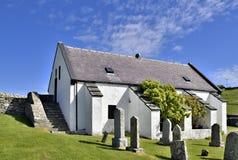 Schotse kerkarchitectuur stock foto's