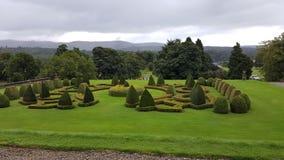 Schotse landgoedtuinen Royalty-vrije Stock Fotografie