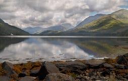 Schotse Loch Stock Afbeelding