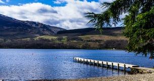 Schotse loch Royalty-vrije Stock Foto's