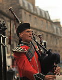 Schotse pijper Stock Foto's