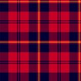 Schotse plaid, klassiek geruit Schots wollen stof naadloos patroon Royalty-vrije Stock Foto