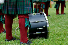 Schotse Slagwerker. Stock Foto's