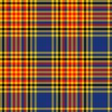 Schotse van het Geruit Schots wollen stof Naadloze patroon illustratie als achtergrond Royalty-vrije Stock Afbeeldingen