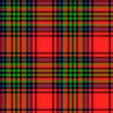 Schotse van het Geruit Schots wollen stof Naadloze patroon illustratie als achtergrond Stock Afbeeldingen