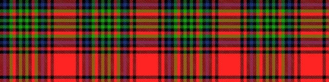 Schotse van het Geruit Schots wollen stof Naadloze patroon illustratie als achtergrond Royalty-vrije Stock Foto