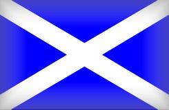 Schotse Vlag Royalty-vrije Stock Afbeelding