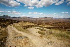 Schotse wandelingsweg Royalty-vrije Stock Foto's