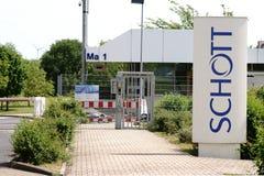Schott AG Mainz Obraz Stock
