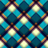 Schottenstoffgewebebeschaffenheit Nahtloses Muster vektor abbildung