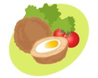 Schottische Eier Stockfotografie