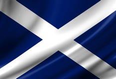 Schottische Flagge Lizenzfreies Stockfoto