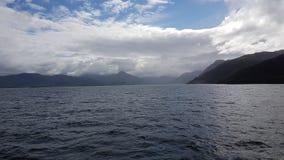 Schottische Inseln - ein Geheimnis im Nebel stockfoto