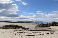 Schottische Küste Stockfotos