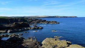 Schottische Küstenlinie Lizenzfreies Stockfoto