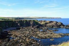 Schottische Küstenlinie Stockfoto