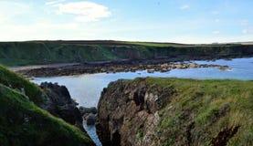 Schottische Küstenlinie Stockfotos