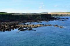 Schottische Küstenlinie Lizenzfreie Stockbilder