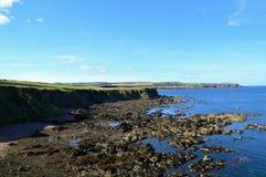 Schottische Küstenlinie Stockfotografie