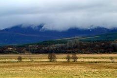 Schottische Landschaft Stockfotografie