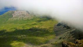 Schottische Landschaften - Ansichten von Ben More Mull lizenzfreie stockfotografie