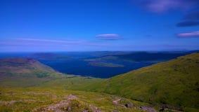 Schottische Landschaften - Ansichten von Ben More Mull stockfotos
