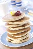 Schottische Pfannkuchen lizenzfreie stockfotografie