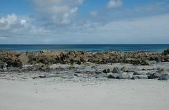 Schottische Strand-Szene Stockbild