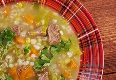 Schottische Suppen-Suppe Stockfotos