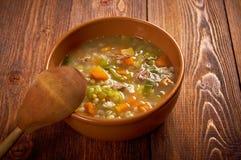 Schottische Suppen-Suppe Lizenzfreies Stockbild