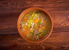 Schottische Suppen-Suppe Lizenzfreie Stockfotografie
