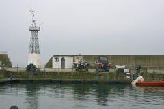 Schottischer Hafen stockbilder