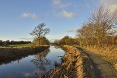 Schottischer Kanal-Weg Stockfotografie