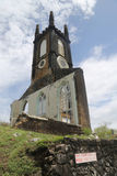 Schottischer Kirk Clock und Glockenturm in St- George` s, Grenada Stockbild