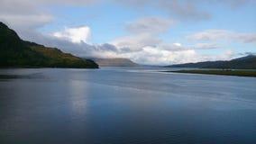 Schottischer Loch Stockbild