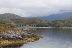 Schottischer Loch Stockfotos