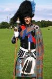 Schottischer Mann in der traditionellen Ausstattung Lizenzfreies Stockbild