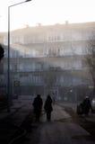 Schottischer Nebel im Land die Türkei Lizenzfreies Stockfoto