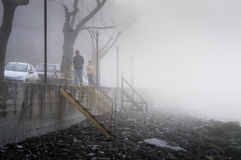 Schottischer Nebel im Land die Türkei Stockfoto