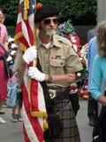 Schottischer Soldat am Koreakrieg-Denkmal Lizenzfreies Stockfoto