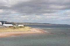Schottischer Strand Stockfoto