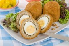 Schottisches Ei stockbilder