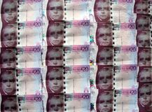 Schottisches Geld. Stockfoto