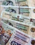 Schottisches Geld Stockbilder