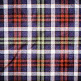 Schottisches grün-blaues Plaid Stockfotos