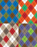 Schottisches Muster Stockbild