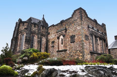 Schottisches nationales Kriegs-Denkmal, Edinburgh-Schloss stockbilder