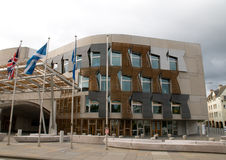 Schottisches Parlament Lizenzfreies Stockfoto