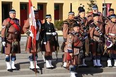 Schottisches Regiment 11 Torontos Lizenzfreie Stockfotos