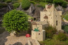 Schottisches Schloss Stockfoto